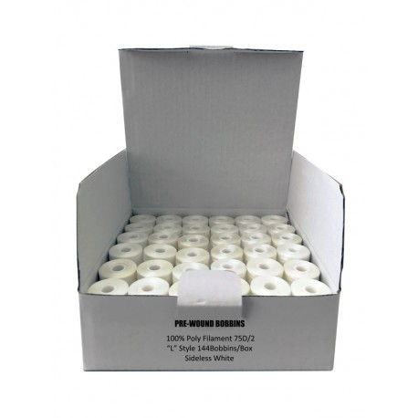 White bobbin case