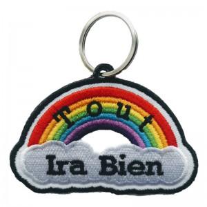 Porte-clés brodés, Tout Ira...