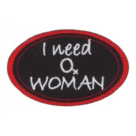I need a woman