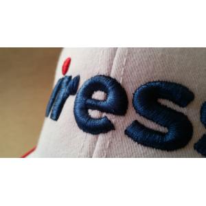 White / Blue Cap Detail