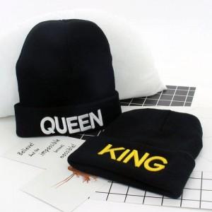 Queen & King Beanies I