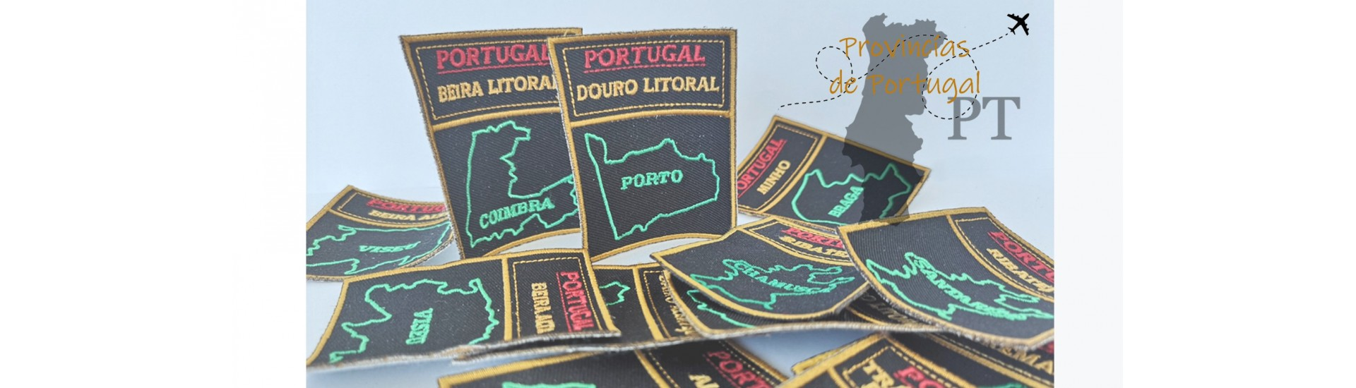 Provinces of Portugal Patches