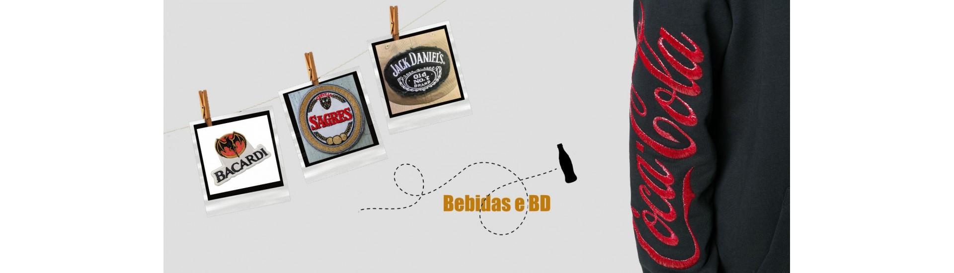 Emblemas Bebidas e BD